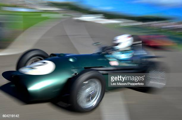 The Richmond Trophy Race at Goodwood on September 11 2016 in Chichester England