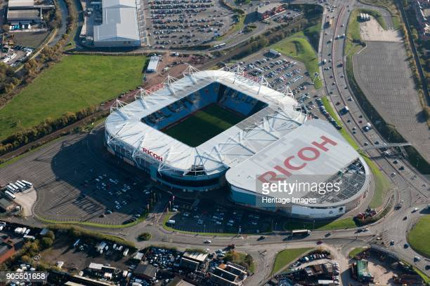 The Ricoh Arena Coventry West Midlands 2014 Home of Coventry City Football Club and Wasps Rugby Club The adjoining Exhibition Hall makes this a...