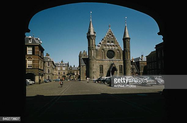 The Ridderzaal in the Binnenhof in the centre of The Hague in the Netherlands circa 1965