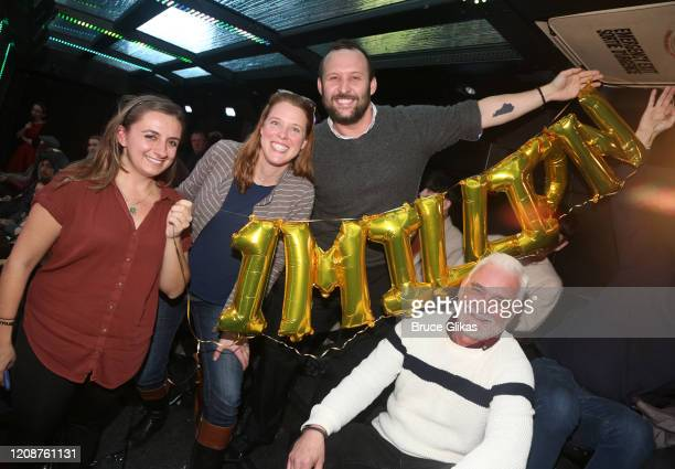 The Ride Director of Marketing Ilana Gazda Winner Heather Hurley The Ride Customer Care Manager Devin Cates and CEO/CCO/Artistic Director of The Ride...