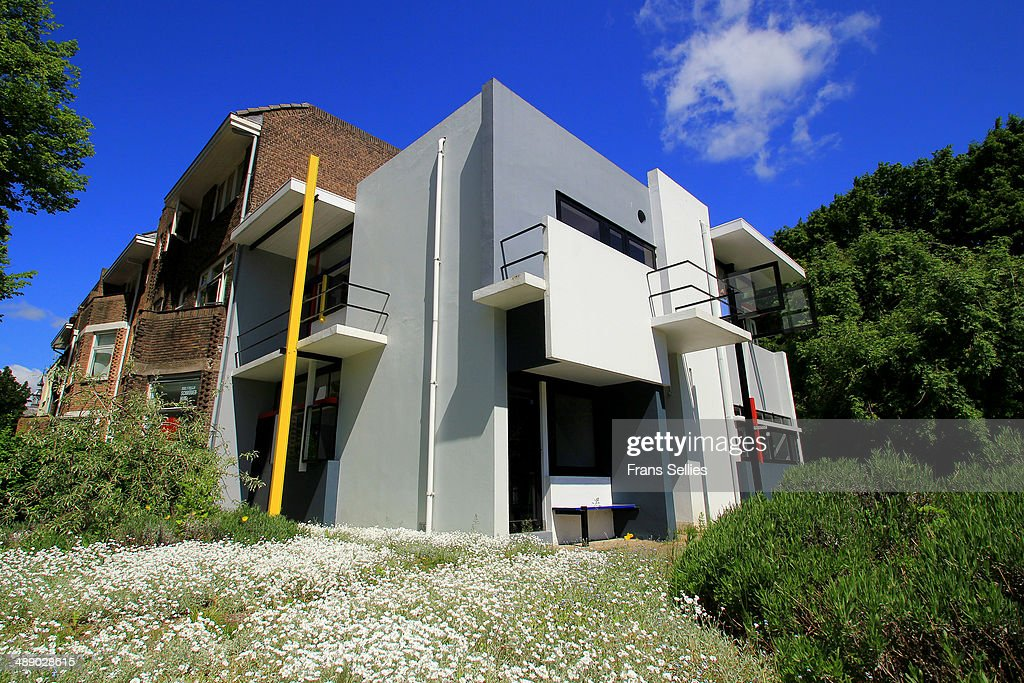 The Rietveld Schröder House in Utrecht : News Photo