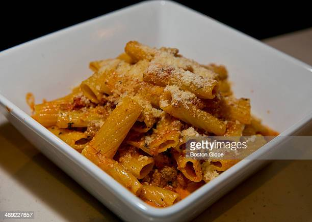 The rigatoni alla Bolognese served at Crow's Landing on Thursday Dec 19 2013