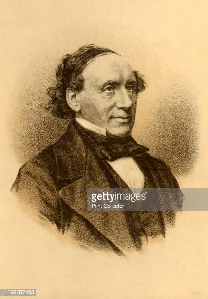 The Right Hon James Whiteside Lord Chief Justice of Ireland' circa 1850 James Whiteside Irish politician and judge educated at Trinity College Dublin...
