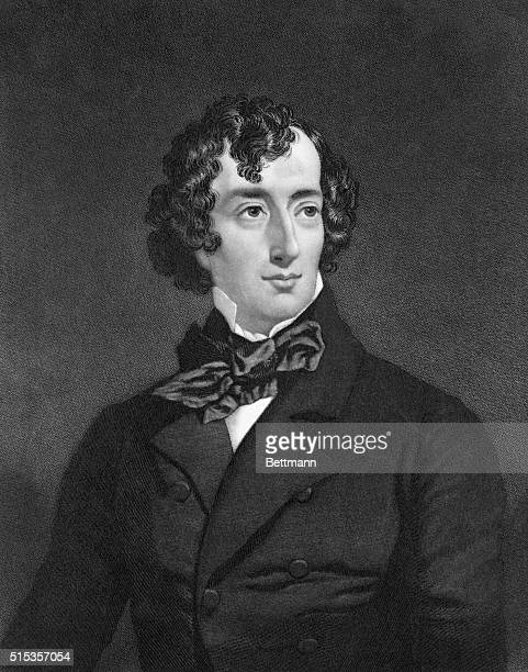 The Right Honorable Benjamin Disraeli Chancellor of the Exchequer in 1852