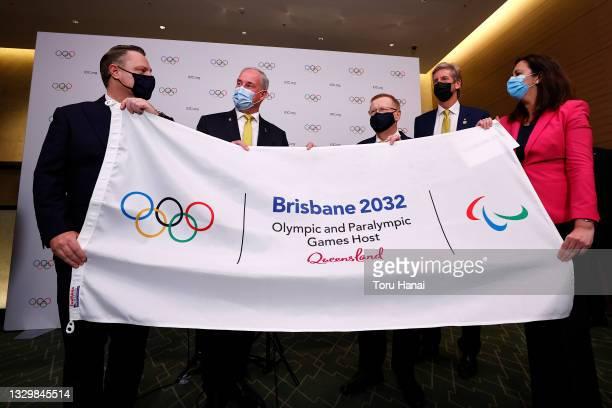 The Right Honourable the Lord Mayor of Brisbane, Councillor Adrian Schrinner, Senator the Honourable Richard Colbeck, Minister for Senior Australians...