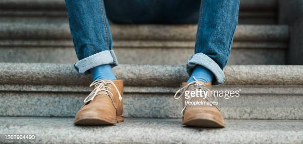 the right shoes can take you to the right places - leather shoe stock pictures, royalty-free photos & images