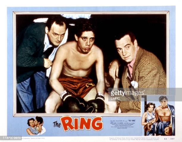The Ring lobbycard Robert Osterloh Lalo Rios Gerald Mohr 1952