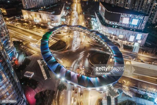 the ring Pedestrian bridge