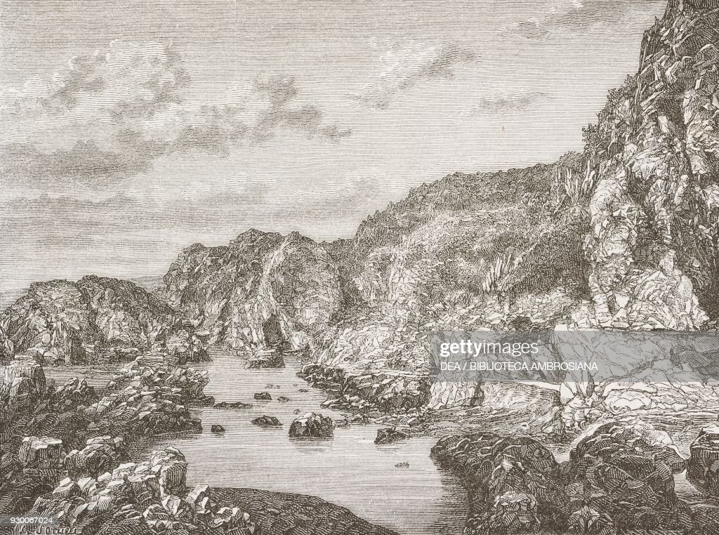 The Rio Loa Quebrada De Chuchu Chile Drawing By Frederic Sorrieu News Photo Getty Images