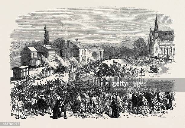 Attack On The Soldiers At The Railway Station 1869