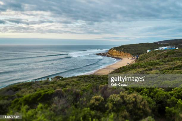The Rip Curl Pro Bells Beach has woken to a fantastic Easter lineup with conditions good enough to call compeititon on