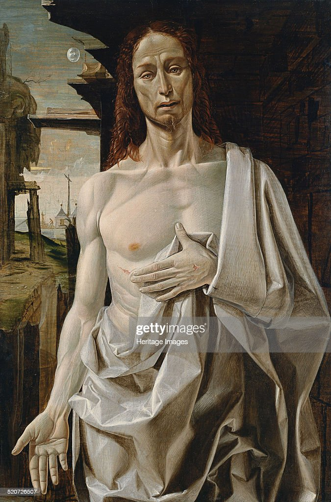 The risen Christ. Artist: Bramantino (1465-1530) : News Photo