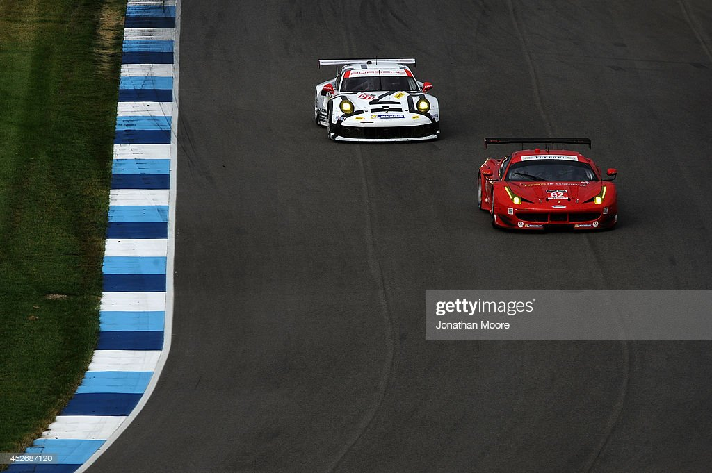 Brickyard Grand Prix for the TUDOR Championship : News Photo