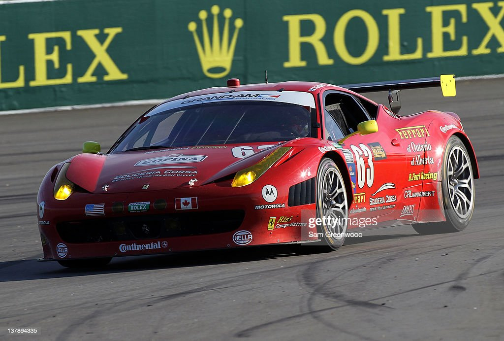 Rolex 24 At Daytona : News Photo