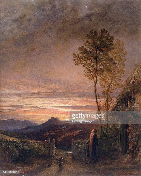 The rising of the skylark' 18391840 Artist Samuel Palmer