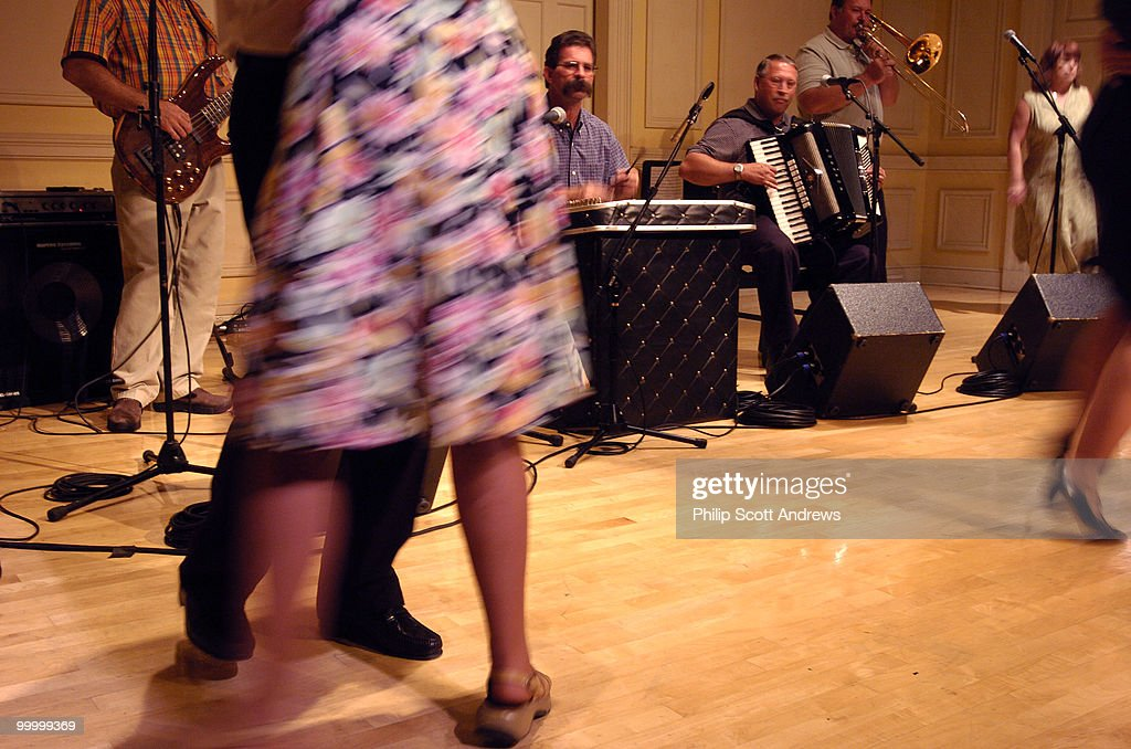 The River Boys polka band preform : News Photo