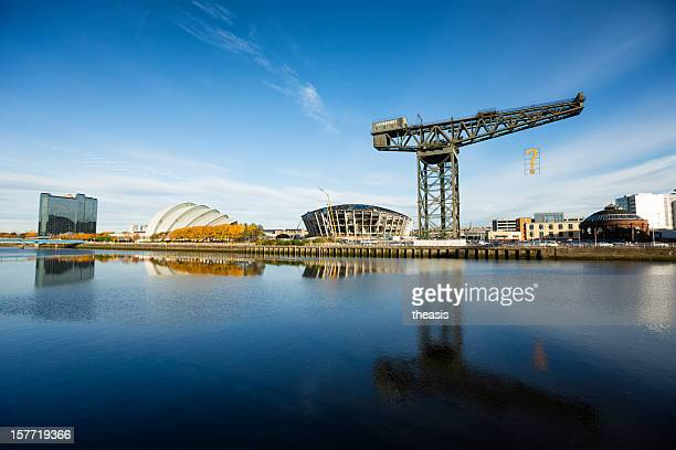 the river clyde, glasgow - theasis stock pictures, royalty-free photos & images