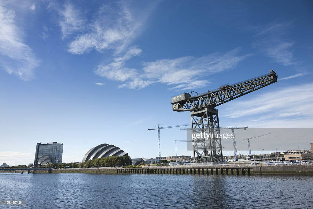 The River Clyde, Glasgow : Stock Photo