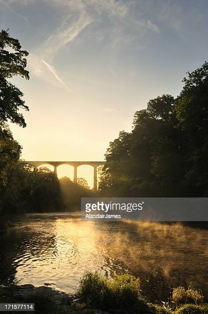 The River Dee at Pontcysyllte portrait