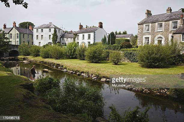 The River Kilbroney in Fairy Glen Rostrevor County Down Northern Ireland United Kingdom