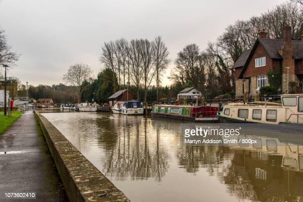 the river medway - river medway stock photos and pictures