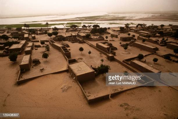 The river of sand in Gao Mali