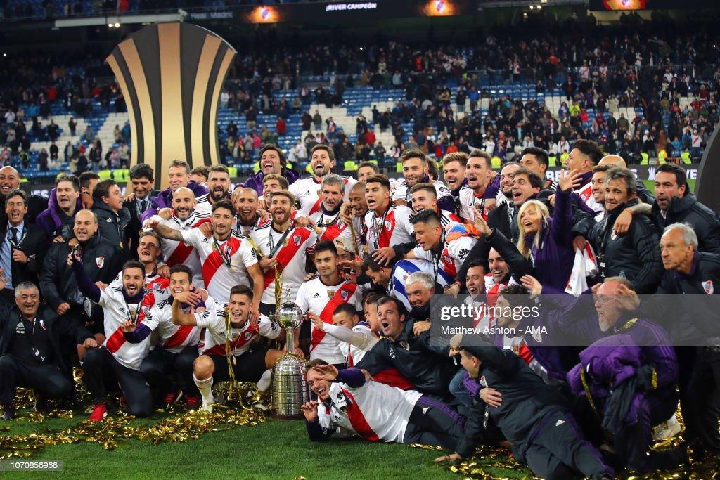 River Plate v Boca Juniors - Copa CONMEBOL Libertadores 2018 : Fotografía de noticias