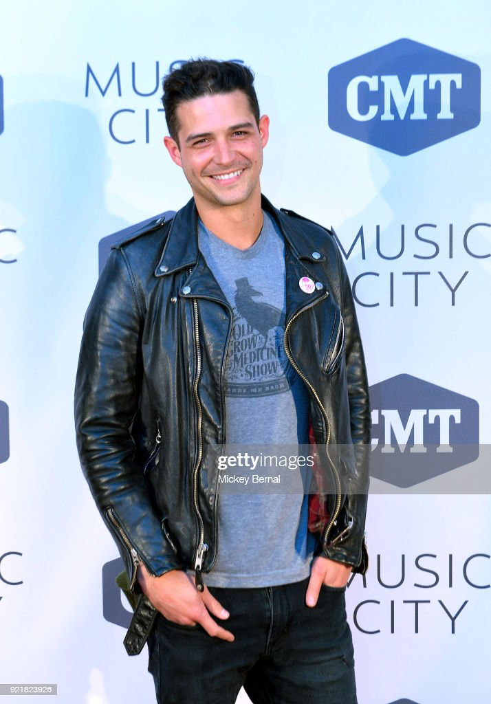 107.5 'The River' radio host Wells Adams attends CMT's 'Music City' premiere Party at The Back Corner on February 20, 2018 in Nashville, Tennessee.