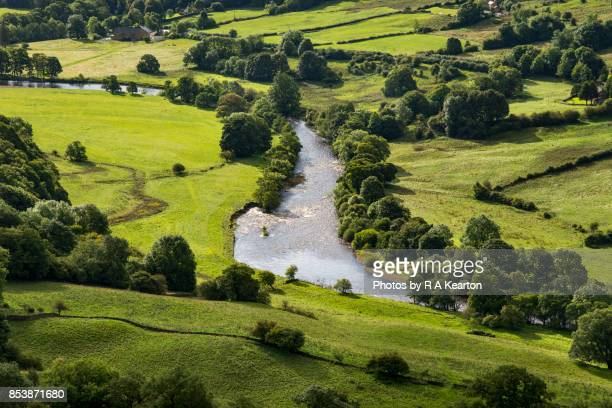 The river Swale near Richmond, Yorkshire Dales, England