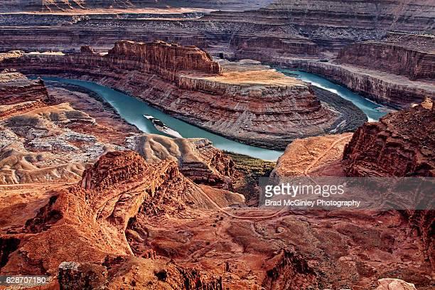the river turns - ユタ州 パークシティ ストックフォトと画像