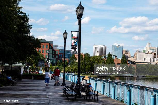 The River Walk River Front east of The Chase Center in Wilmington, DE. The Chase Center is the secondary location of The Democratic National...