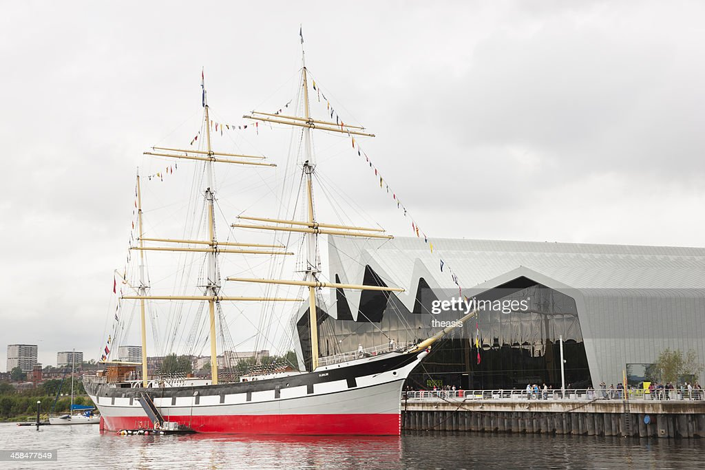 The Riverside Museum, Glasgow : Stock Photo