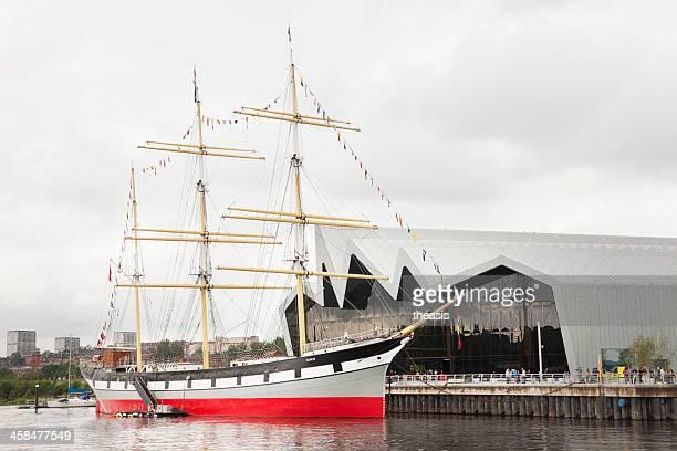 le riverside museum, à glasgow - theasis photos et images de collection