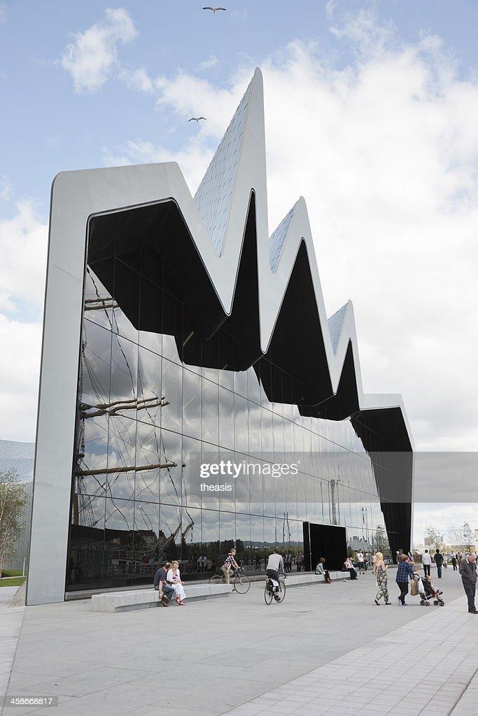 The Riverside Museum, Glasgow : Stock Photo