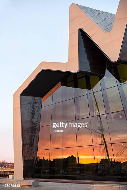el museo riverside, glasgow - theasis fotografías e imágenes de stock