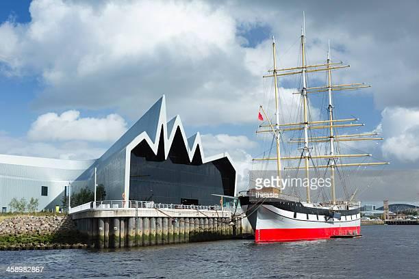 das riverside museum, glasgow - theasis stock-fotos und bilder