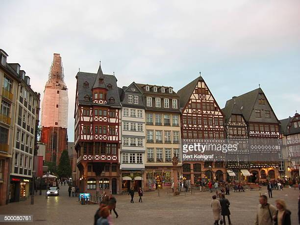 CONTENT] The Römerberg is the historic heart of Frankfurt Germany and since the High Middle Ages the centre of the Altstadt The area's buildings...