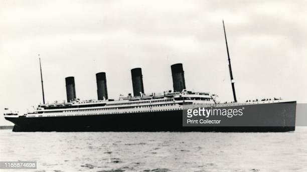 The RMS 'Titanic' leaving Southampton 10 April 1912 Operated by the White Star Line 'Titanic' was the largest and most luxurious ocean liner of her...