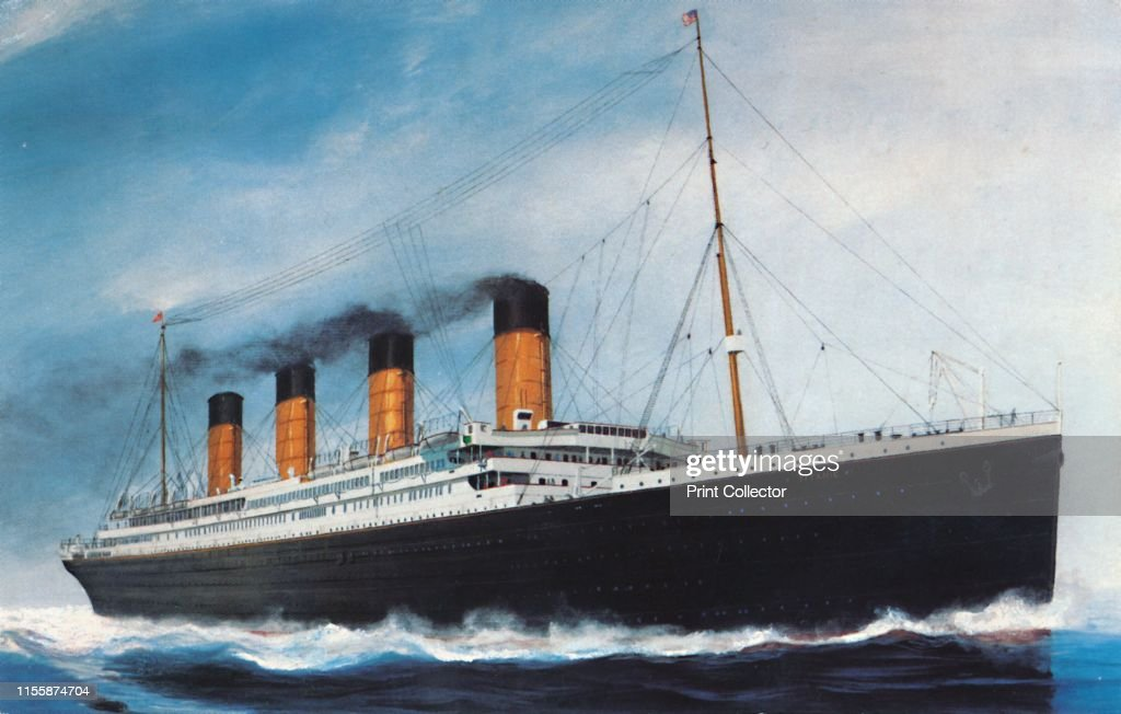 The Rms Titanic Creator: Unknown : News Photo