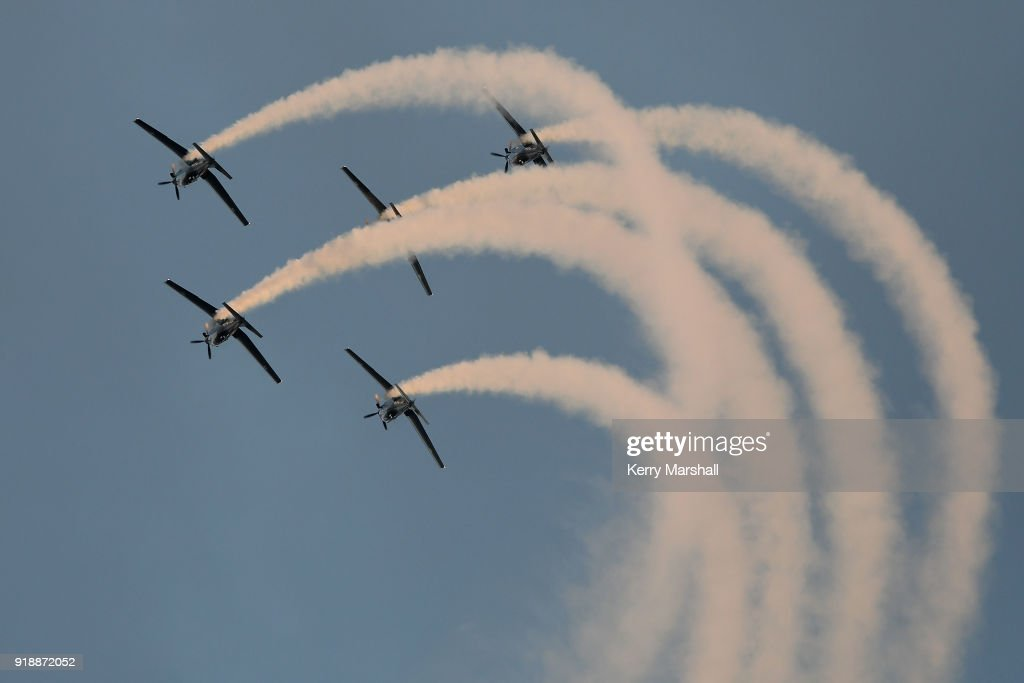 Air Displays During Opening Of Annual Art Deco Festival Photos and ...