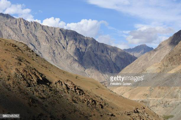 The road between Srinagar to Kargil along the border with Pakistan in Kashmir on July 07 India