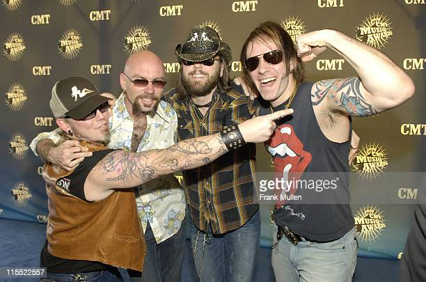 The Road Hammers during 2006 CMT Music Awards - Arrivals at Curb Event Center at Belmont University in Nashville, Tennessee, United States.