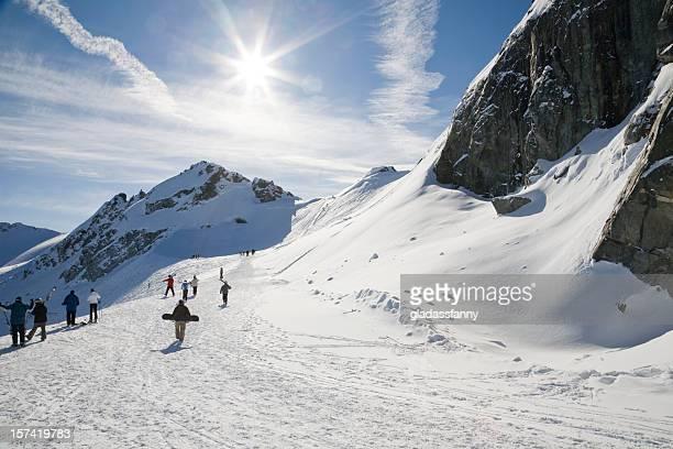 The Road Into Blackcomb Glacier