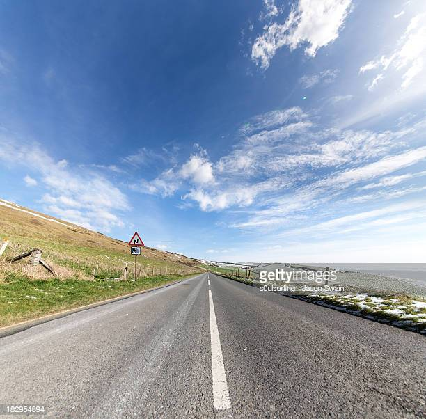 the road is long - s0ulsurfing stock-fotos und bilder
