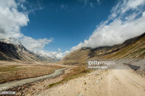 The road less travelled in the Himalaya mountains