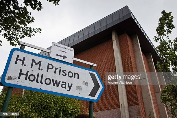 The road sign directing people to HMP Holloway the main womens prison in London HM Prison Holloway is a closed category prison for adult women and...
