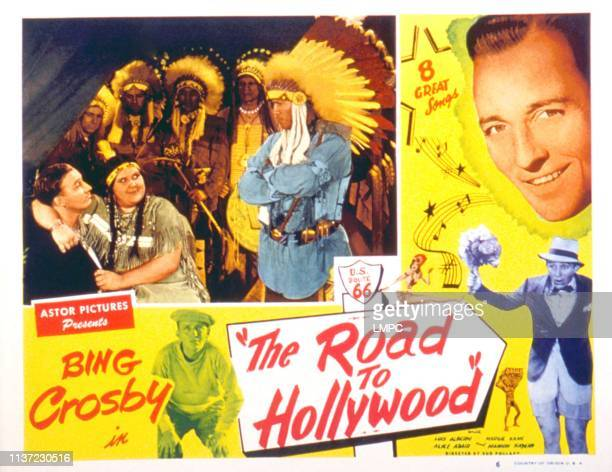 The Road To Hollywood lobbycard Bing Crosby June Gittelson 1947