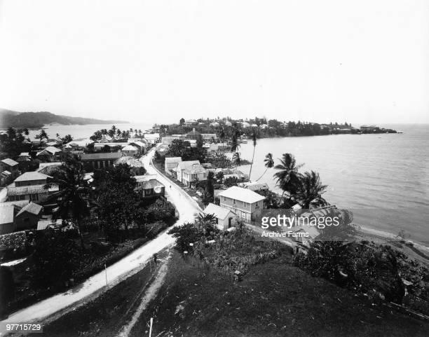 The road to Port Antonio Jamaica