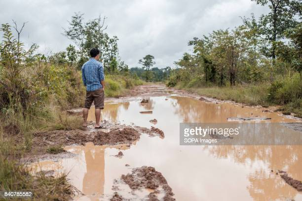 The road to the village of Kbal Romeas is impassable by most vehicles The road's condition also makes it hard work for people attempting illegal...