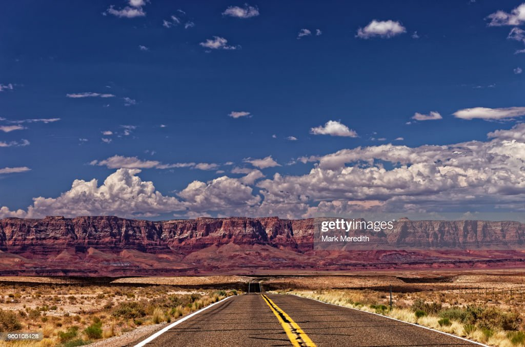 The Road to Vermillion Cliffs National Monument , Arizona : Stock-Foto